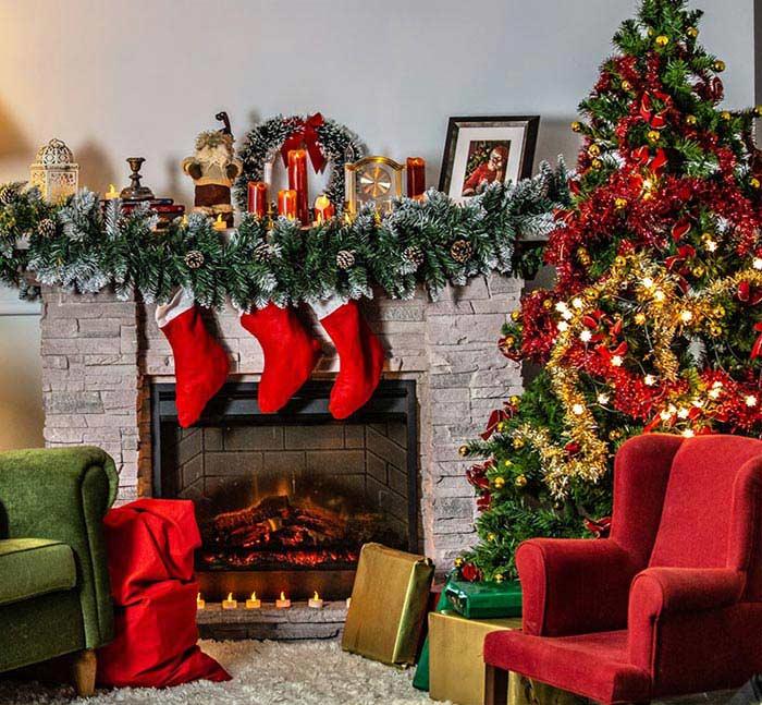 Come decorare la casa per il Natale?