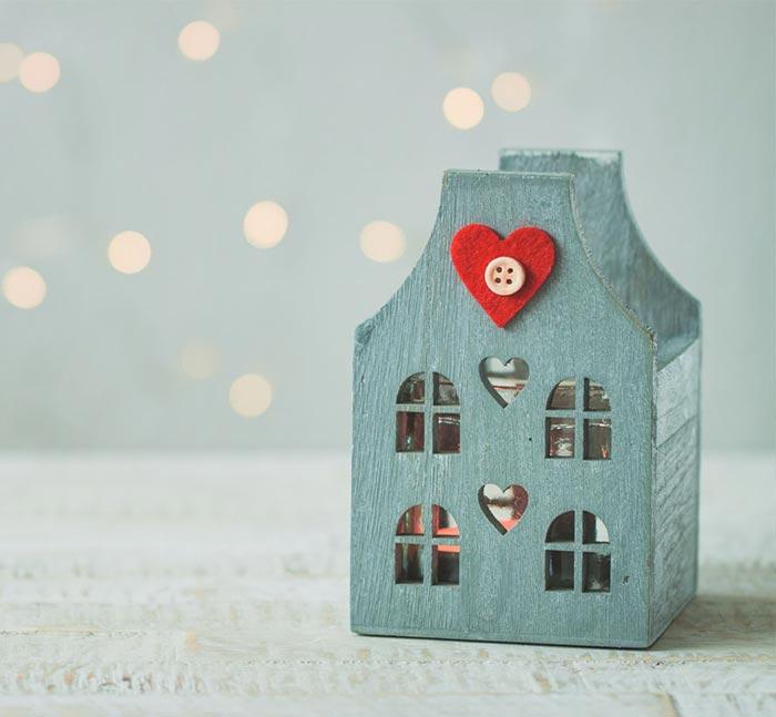 Come decorare la casa per San Valentino?
