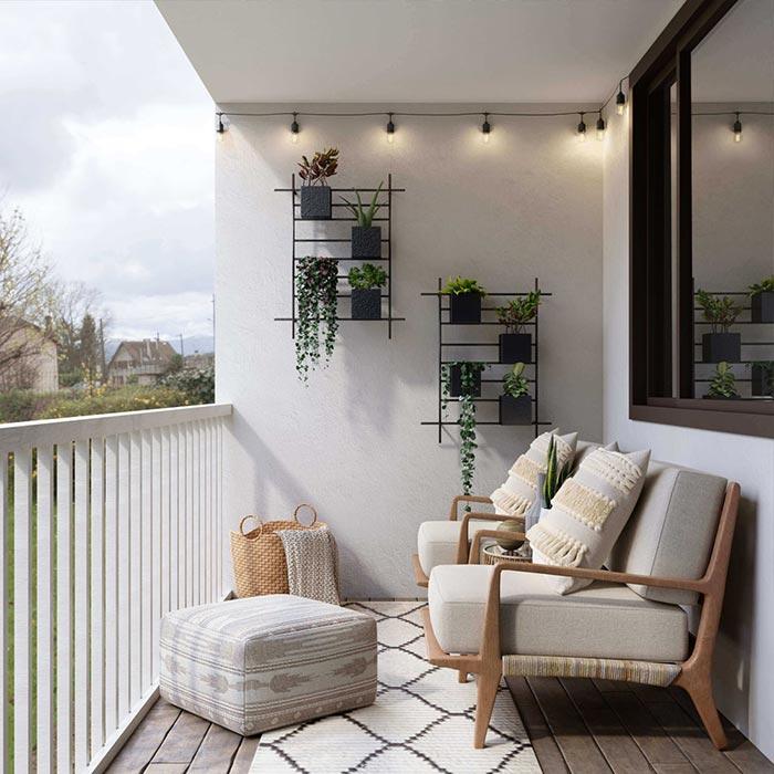 Consigli per fare un bellissimo balcone e poterne godere