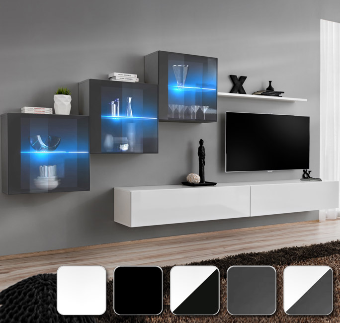 Mobili da soggiorno Berit 7 per abbinare il tuo gusto