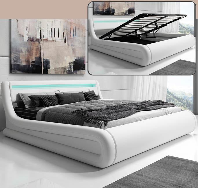 Letto de design Rodas bianco