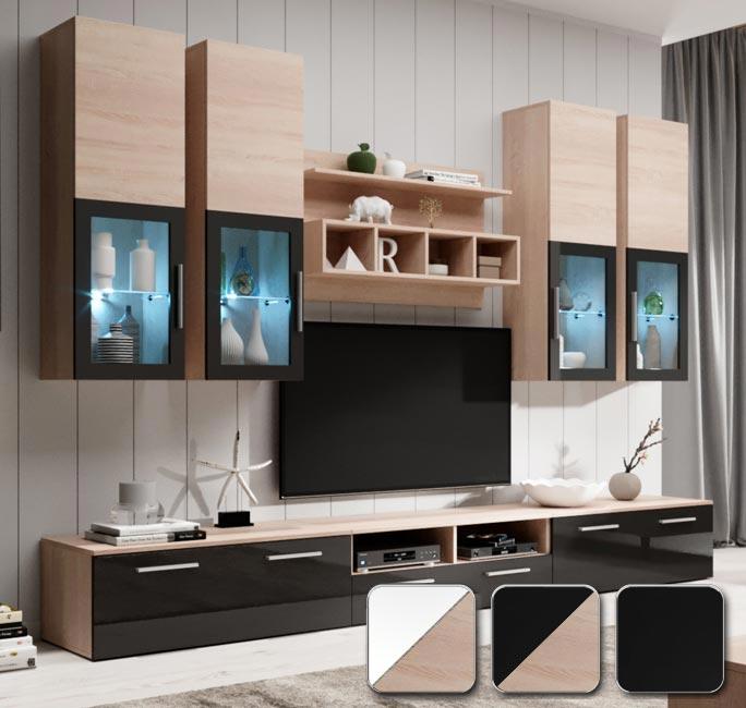 Mobili da soggiorno Acosta in diversi colori