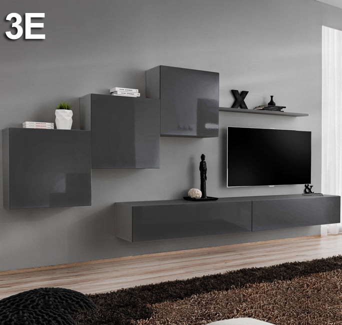 Modello Berit 3E grigio (3,3m)