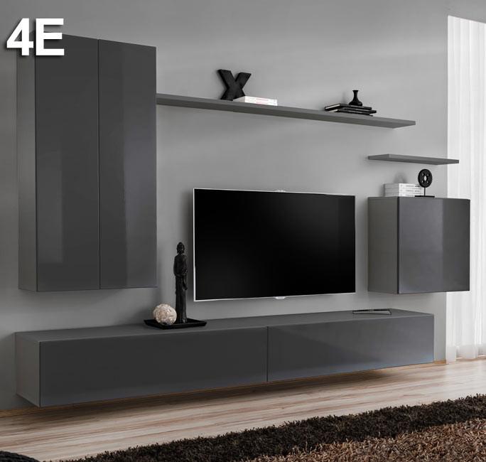 Modello Berit 4E grigio (2,7m)