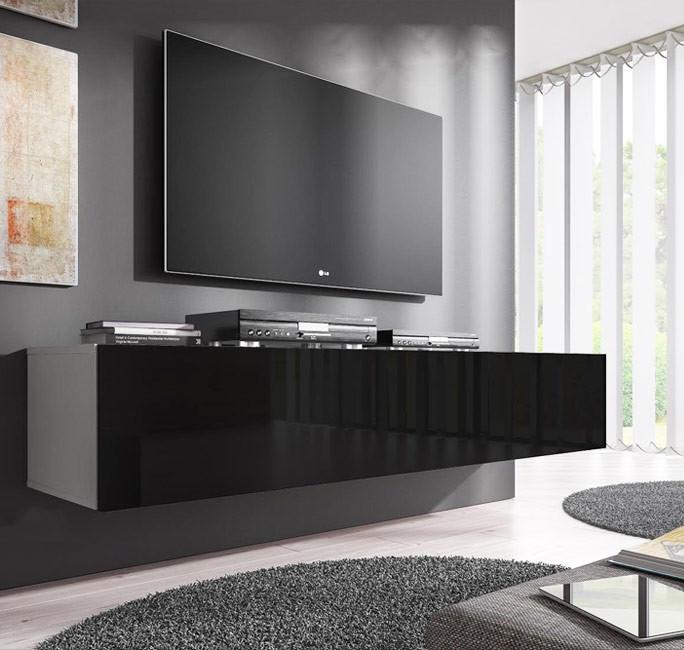 mobile tv forli xl bianco nero