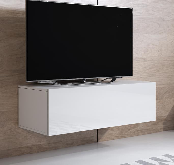 mobile tv luke h1 100x30 bianco