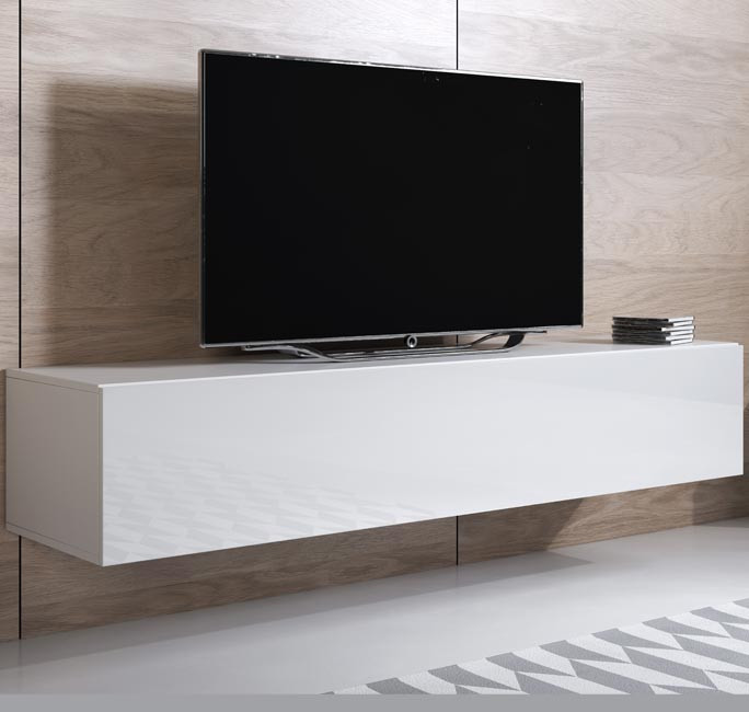 mobile tv luke h2 160x30 bianco