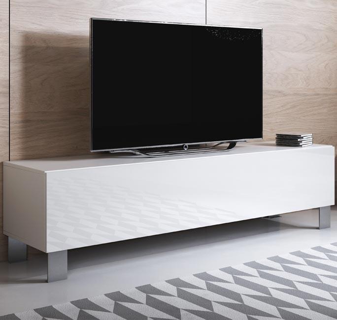 mobile-tv-luke-h2-160x30-zampe-alluminio-bianco