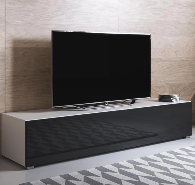mobile-tv-luke-h2-160x30-zampe-bianco-negro
