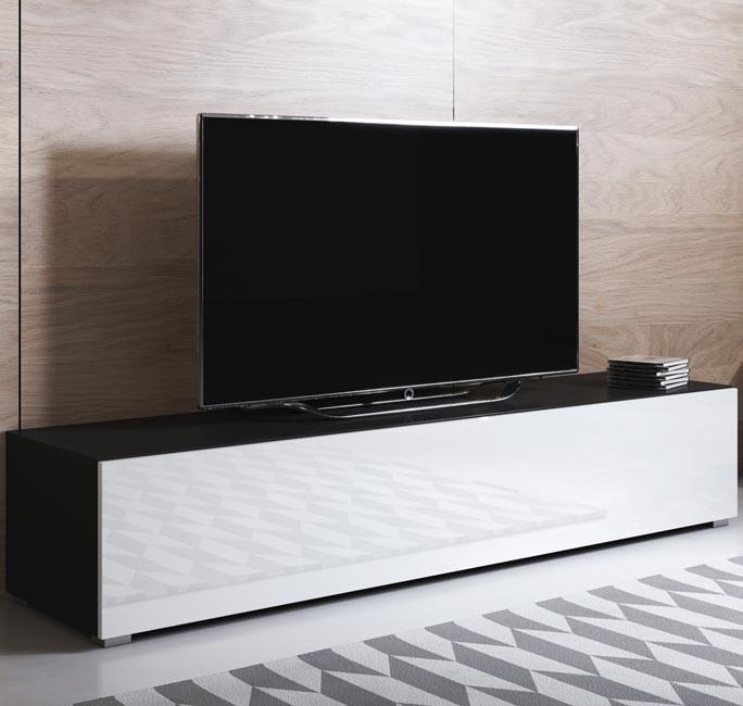 mobile-tv-luke-h2-160x30-zampe-nero-bianco