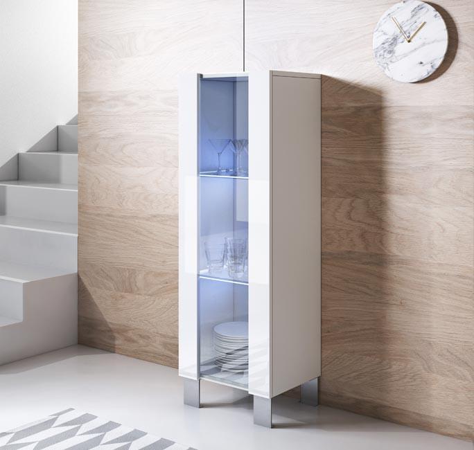 mobile-tv-luke-v2-40x126cr-zampe-alluminio-bianco