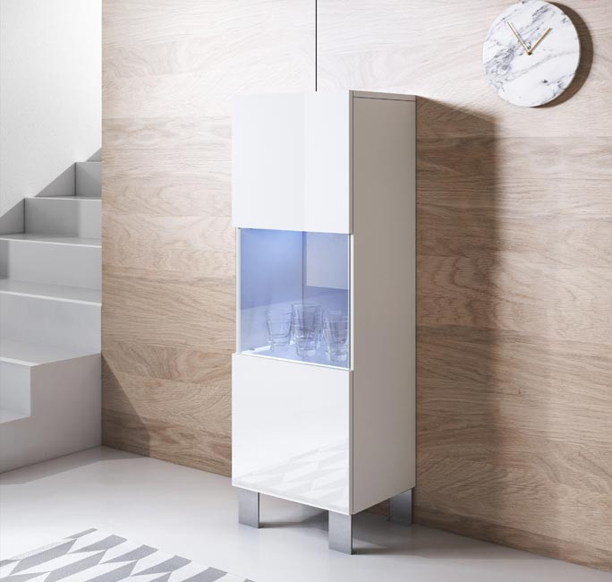 mobile-tv-luke-v3-40x126cc-zampe-alluminio-bianco