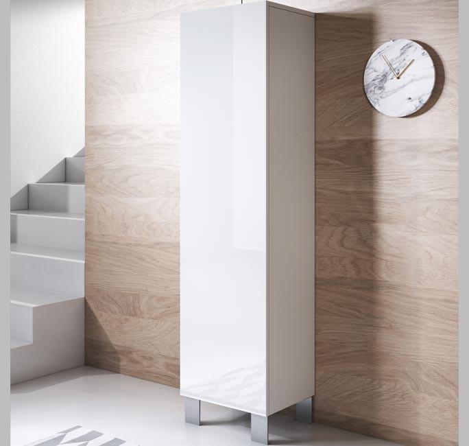 mobile-tv-luke-v4-40x165-zampe-alluminio-bianco