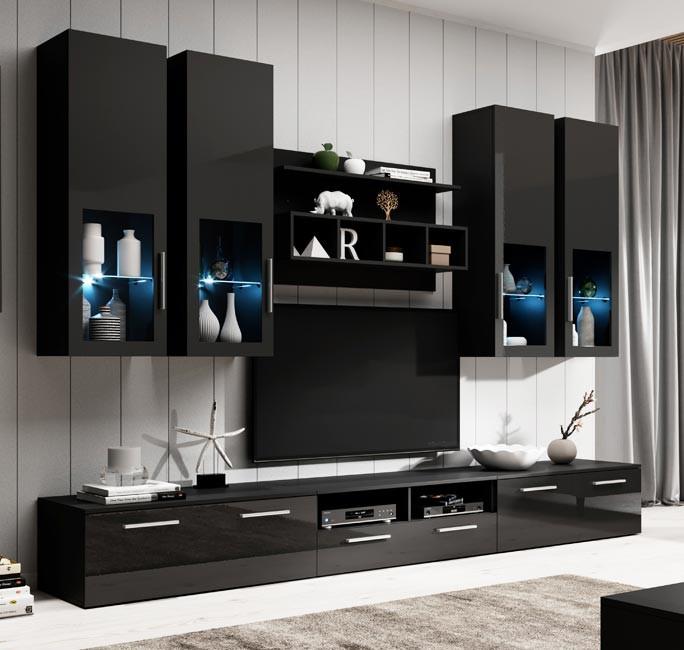 mobile soggiorno acosta nero