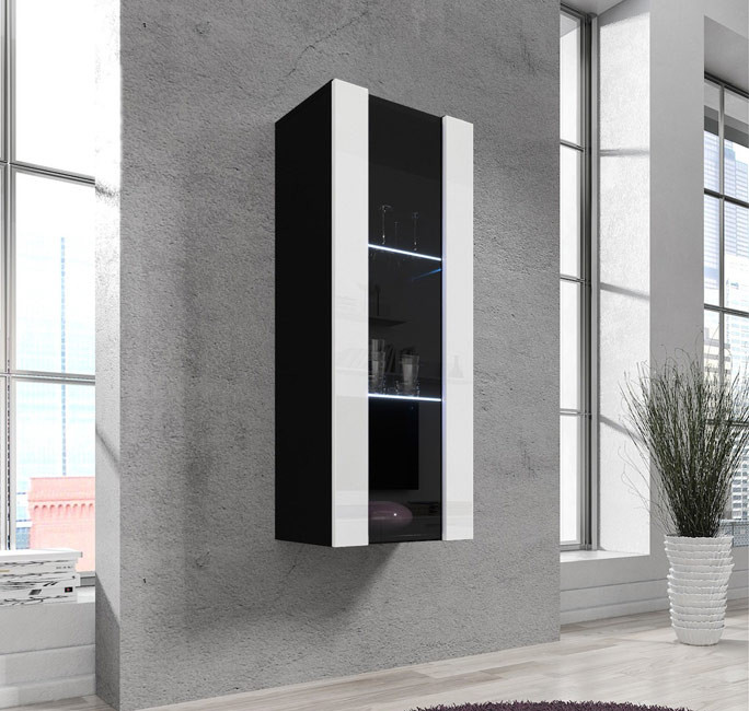 vetrina zarco nero bianco