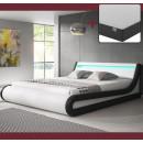 cama pa pa blanco negro01