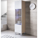 vetrinetta-luke-v6-piedini_aluminio-sonoma-bianco