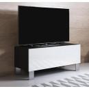 mobile-tv-luke-h1-100x30-piedini-aluminium-nero-bianco