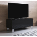 mobile-tv-luke-h1-100x30-piedini-aluminium-nero