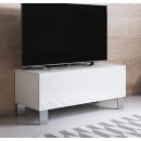 mobile-tv-luke-h1-100x30-zampe-aluminium-bianco