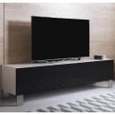 mobile-tv-luke-h2-160x30-piedini-alluminio-bianco-nero