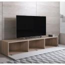 mueble-tv-luke-h2-160x30-pies-sonoma-blanco-abierto