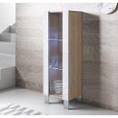 vertrinetta-luke-v2-40x126-piedini-alluminio-sonoma-bianco
