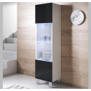 vetrinetta-luke-v6-40x165cc-piedini-alluminio-bianco-nero