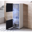 vetrinetta-piedini-bianchi-luke-v6-40x126cm-bianco-nero-aperto