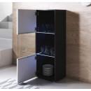 vetrinetta-piedini-bianchi-luke-v6-40x126cm-nero-bianco-aperto