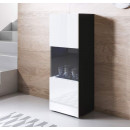 vetrinetta-piedini-bianchi-luke-v6-40x126cm-nero-bianco
