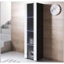 vetrinetta-piedini-neri-luke-v5-40x165cc-nero-bianco