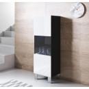 vitrina-colgante-luke-v3-40x126cm-pies-aluminio-negro-blanco