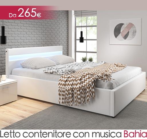 Cama canapé con música Bahia