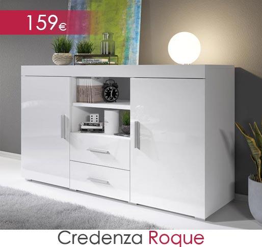 Credenza modello Roque colore bianco
